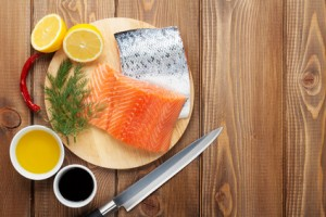 Low Calorie Honey Dijon Salmon