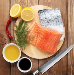 Low Calorie Honey Dijon Salmon