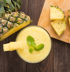 Pain Relieving Pineapple Smoothie