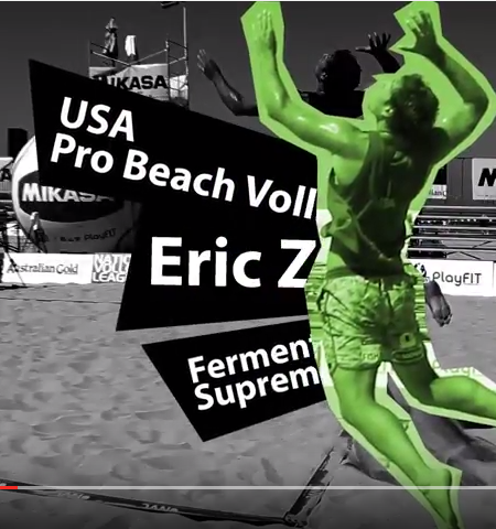 Pro Beach Volleyball Player Talks About Why He Loves Green Supremefood