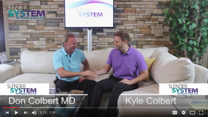 Dr. Don Colbert Dicusses The Slender System