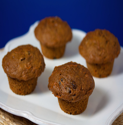 Raisin Carrot Muffins
