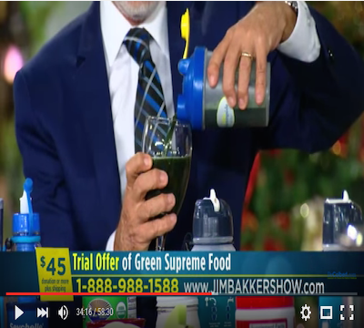 Jim Bakker Green Supremefood