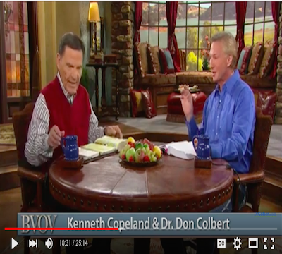 Dr. Colbert on Kenneth Copeland