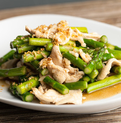 Chicken & Asparagus Stir Fry