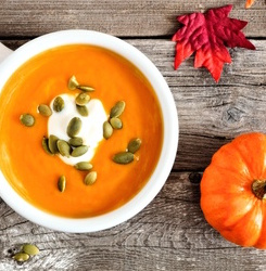Cancer-Fighting Spicy Pumpkin Soup