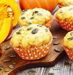 Keto Pumpkin Chia Muffins