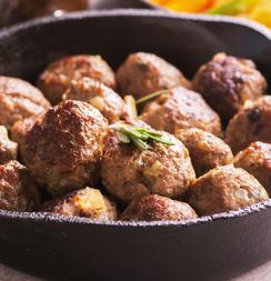 Keto Sausage Meatballs