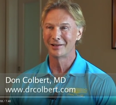 Dr. Colbert Discusses Reversing Diabetes