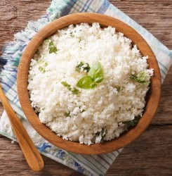 "Lemon Cauliflower ""Rice"""
