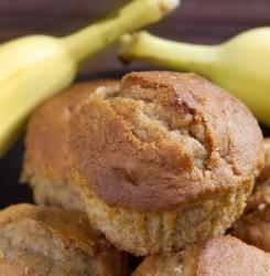 Cinnamon Banana Detox Muffins