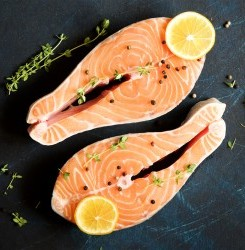 Keto Salmon With Lemon Butter