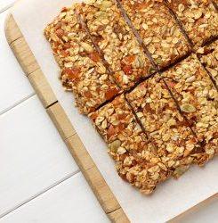 Grain-Free Keto Granola Bars