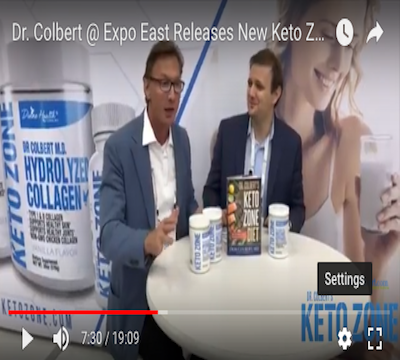 Dr. Colbert Unveils Keto Zone Diet for Burning Fat & Improving Memory