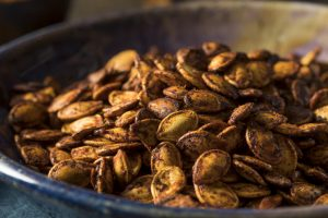 Easy Detox Snack: Cumin Roasted Pepitas