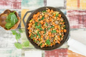 Detox Sweet Potato Bean Hash