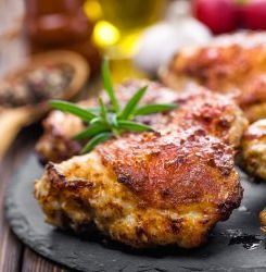 Keto Comfort Food: Pan Fried Chicken Thighs