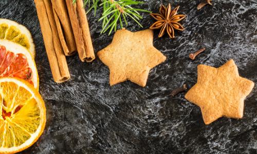 Spiced Keto Christmas Cookies