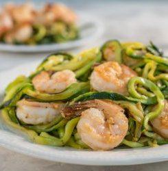 Easy Keto Shrimp Scampi