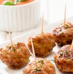 Zesty Keto Meatballs with Asian Style Dipping Sauce