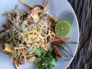 Keto Pad Thai with Zucchini Noodles