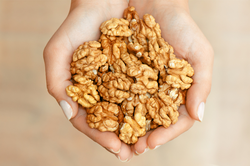 Your Gut Microbiome Loves Walnuts, New Research on Nuts and Health Shows