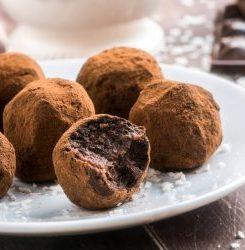 Keto Chocolate Coffee Truffles