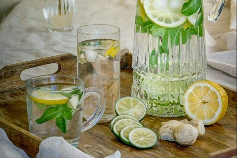 Refreshing Keto Mint Lemonade