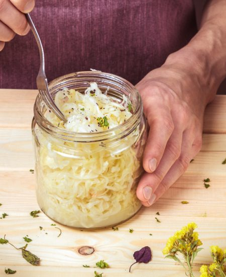 Easy Keto Zone Sauerkraut