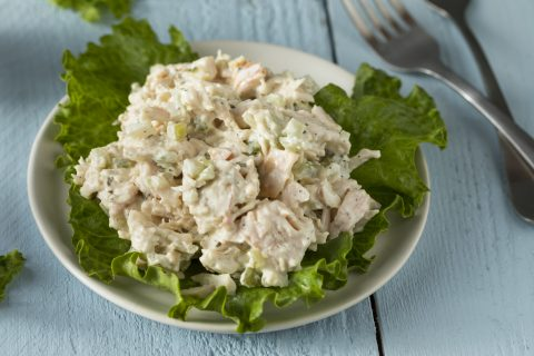 Keto Zone Leftover Turkey Salad