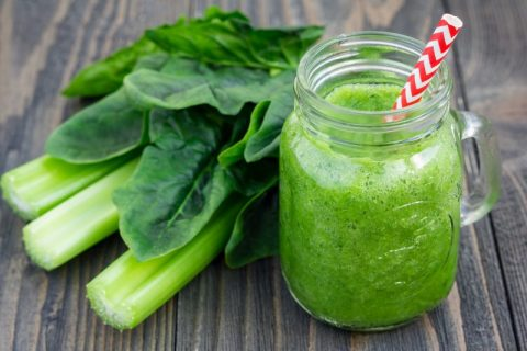 Keto Zone Anti-Bloat Detox Celery Smoothie