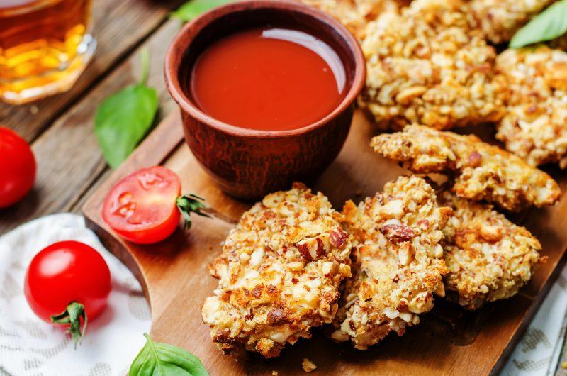 Easy Crispy Keto Chicken Tenders