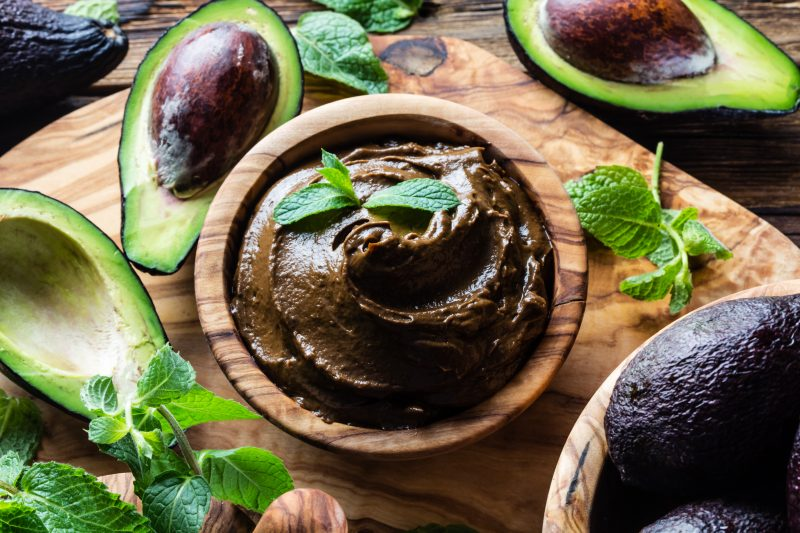 Keto Zone Velvety Chocolate Avocado Pudding