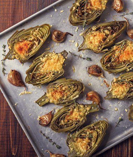 Keto Zone Stuffed Artichokes