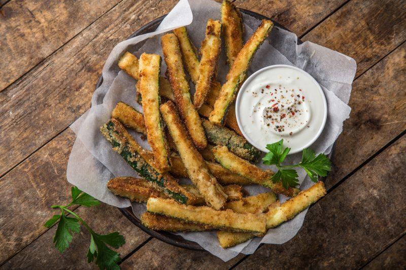 Keto Zone Zucchini Fries
