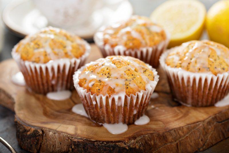 Keto Zone Lemon Chia Seed Muffins