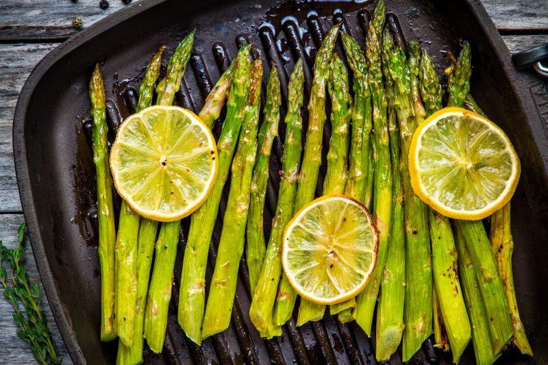 Keto Zone Baked Lemon Asparagus
