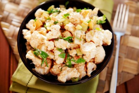 Keto Zone Cauliflower Salad