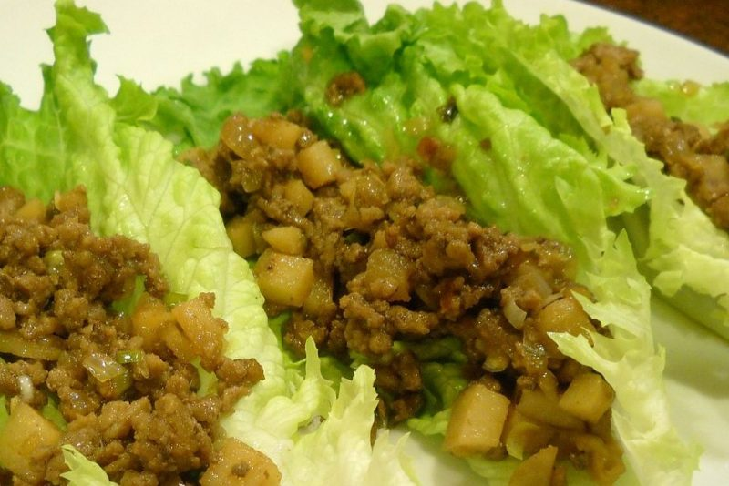 Keto Zone Asian Lettuce Wraps & Steps for Keto Zone Dinners