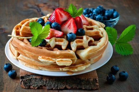 Easy 4-Ingredient Keto Zone Waffles