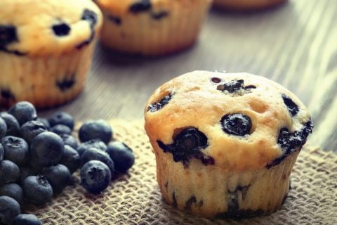 Keto Zone Blueberry Muffins
