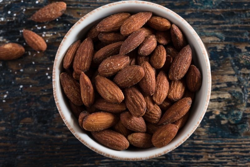 Keto Zone Roasted Spiced Almonds