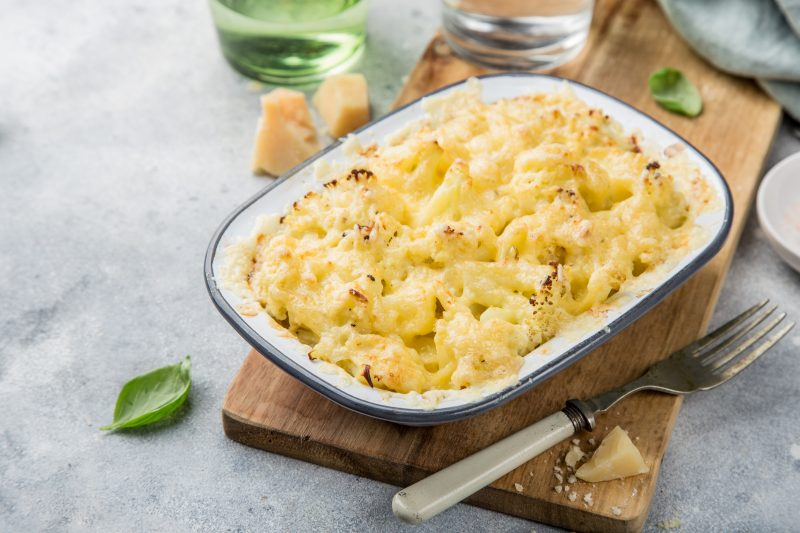 Keto Zone Cauliflower Mac and Cheese