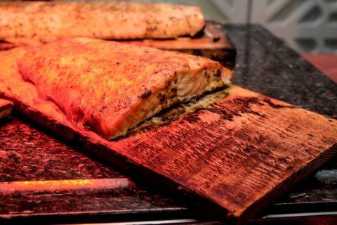 Keto Zone Grilled Cedar Plank Salmon