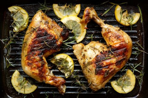 Keto Zone Independence Day: Rosemary Lemon Grilled Chicken