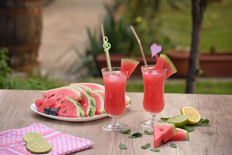 Watermelon Lime Slushie & 5 Benefits of Limes