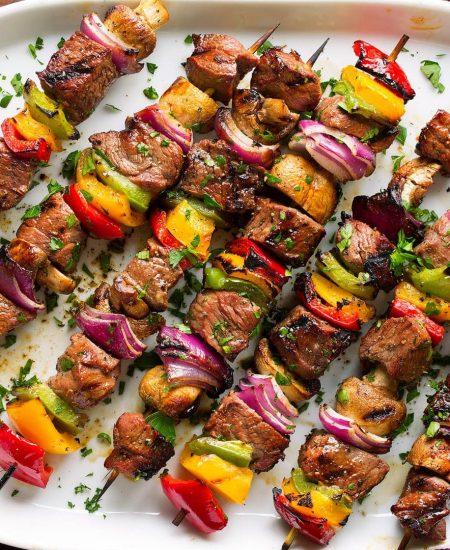 Keto Zone Grass-Fed Sirloin Beef Kebabs