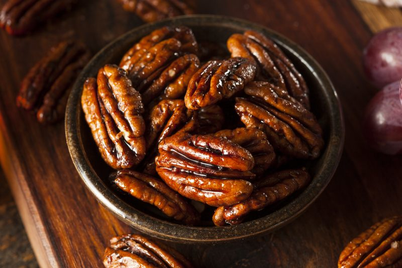 Triple-Superfood Sweet Spiced Pecans