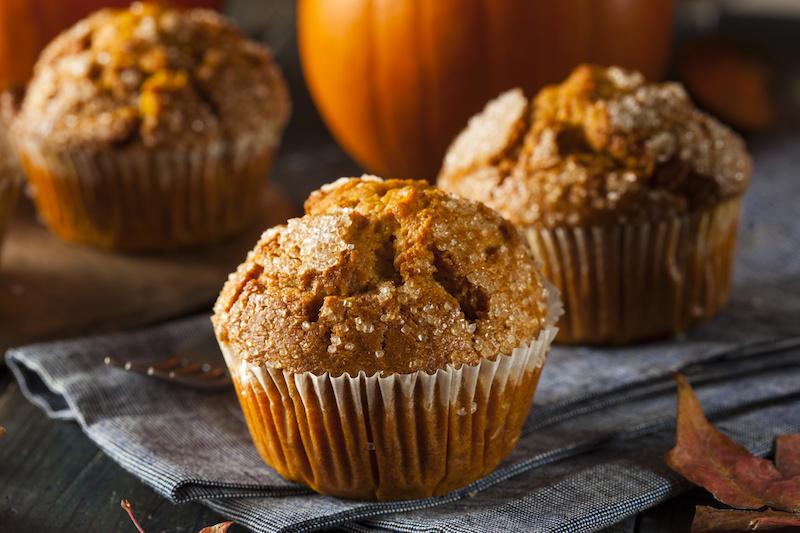 Keto Zone Pumpkin Chia Muffins