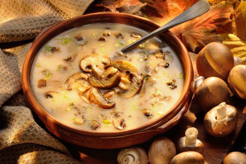 Keto Zone Creamy Mushroom Soup